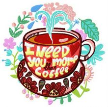 I need you more than coffee