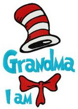 Seuss Grandma I am