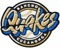 Rancho Cucamonga Quakes Logo embroidery design