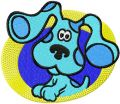 Blues Clues 3 embroidery design