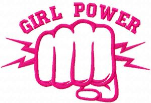 Pink girl power