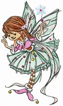 Young fairy girl