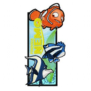 Finding Nemo Bookmark