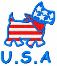Happy Dog USA style