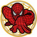 Spider-Man My Hero embroidery design