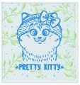 Pretty kitty 2 embroidery design