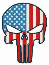 USA flag Punisher