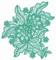 Lace flower 7 embroidery design