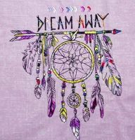 Embroidered dream away design