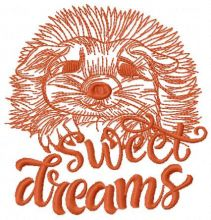 Hedgehog sweet dreams 2