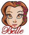 Fancy Belle 4 embroidery design