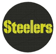 Pittsburgh Steelers round logo