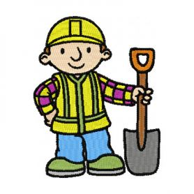 Bob the Builder 1 machine embroidery design