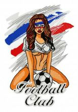French football fan