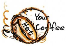 Your hot coffee