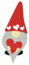 Gnome with valentine card