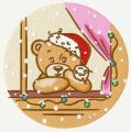 Waiting for Christmas embroidery design