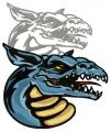 Dragon's shadow 5 embroidery design