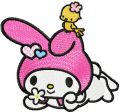My Melody Dream embroidery design