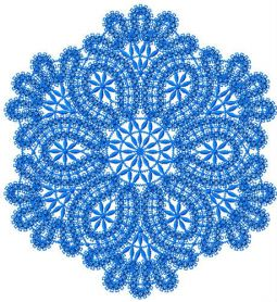 Round lace element 2 machine embroidery design