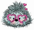My prickly Valentine 4 embroidery design