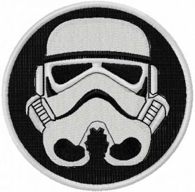 Darth Vader embroidery design 6