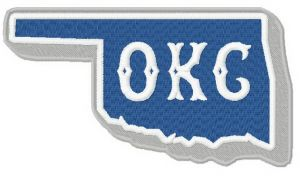 Oklahoma City Dodgers logo 2