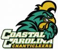 Coastal Carolina Chanticleers logo embroidery design