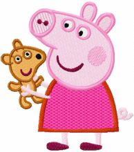 Peppa Pig with Toy