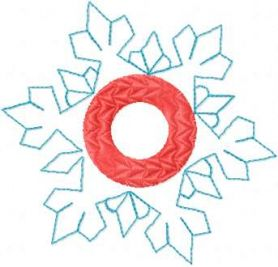 Christmas snowflake free embroidery design
