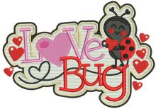 Love bug badge