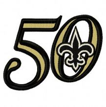 New Orleans Saints 50th anniversary 3