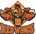 Rochester Red Wings Logo embroidery design