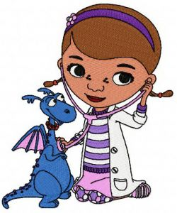 Doc McStuffins and dragon
