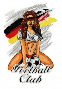 German football fan