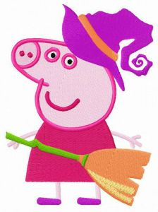 Peppa the witch
