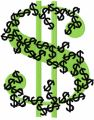 Dollar embroidery design
