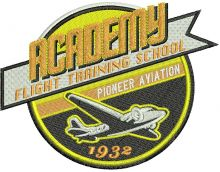 Academy flight training school