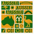 Aussie embroidery design