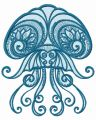 Jellyfish 2 embroidery design