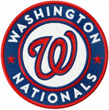 Washington Nationals Logo round