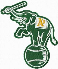 Oakland Athletics alternative logo
