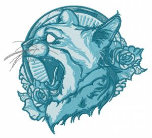 Cat spirit blue gamma