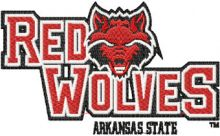Arkansas Red Wolves logo