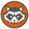Rocket Raccoon Avengers embroidery design