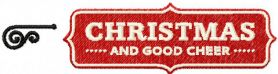 Christmas good cheer free embroidery design