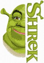 Shrek with Logo
