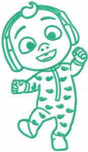 Baby Johny Cocomelon one colored