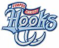 Corpus Christi Hooks team logo embroidery design