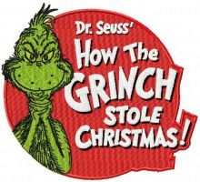 How the Grinch stole Christmas badge